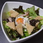 CABIN - 温泉卵のシーザーサラダ
