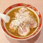 ラーメン まるいし - チャーシューメン・味噌(900円)