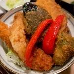 タレカツ - 野菜カツ丼
