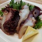 リスモリーノ - 前菜(タコの燻製)