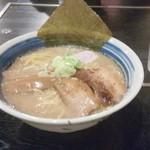 麺屋 天晴れ魂 - 醤油ラーメン大盛り 770円(移転後)