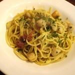 La Coccinella - スパゲティ帆立、トマト=2014年5月