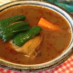 薬膳カリイ本舗 Ajanta - とりの薬膳スープ