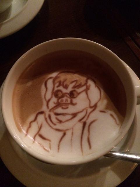 カフェ・フォリオ - カフェ・オ・レ¥600(ポルコ)