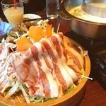 桜庵 サクラダイニング - 料理写真:豚しゃぶ