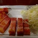 アメ村社員食堂 - 厚切りベーコン