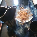 蕎麦切り 才屋 - 日本酒と揚げ蕎麦
