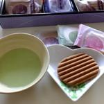 道の駅 美山ふれあい広場 - 抹茶と京竹風庵 想:945円