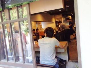 つけ麺 五ノ神製作所 - 外からの