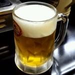焼肉きくや - 生ビール中