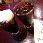 ギオン - アイスウィンナーコーヒー、アイスコーヒー