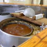中華そば まるき - まるきと言えば、濃厚な煮干し出汁。