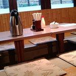 タオ - タオ 店内の座敷席