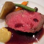 ラトリエ・ドゥ・ニシタニ - 肉料理(ローストビーフ)
