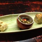 左近太郎 - 前菜三種
