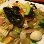 天津菜館 - 木耳、うずらちゃん大好き♪