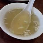中華麺飯 太楼 - スープ