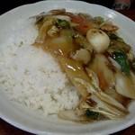 中華麺飯 太楼 - 夫の中華丼