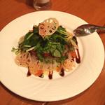 27372766 - 本日のおすすめ:愛媛県産真鯛のカルパッチョ