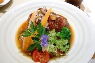 アザミ - 煮込みハンバーグ1,080円
