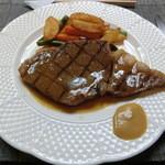 洋凡料理 NAKAMURA - 和牛サーロインステーキグレイヴィーソース