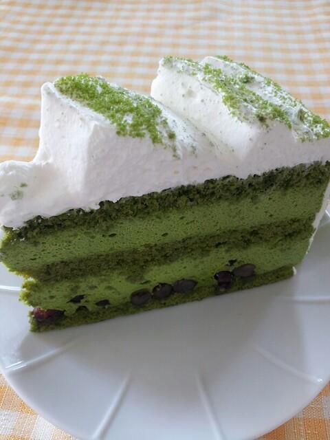 ハーブス 栄本店 - 抹茶のケーキ
