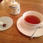 ムレスナティーハウス - ランチセットの紅茶