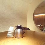 石塀小路 豆ちゃ - セルフサービスのお茶。