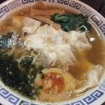 六三四八 - 料理写真:ワンタン麺(850円)