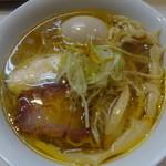 ばふ。 - 2014/5 熟成 端麗麺 + 煮玉子