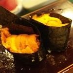 八瀬寿司 - うに♪