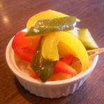 ル・トランブルー - 野菜のマリネ
