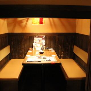 【和み空間】温もりあふれる個室は2名様~