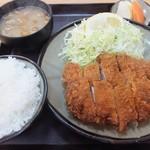 とんかつ 吾妻 - 上ロースカツ定食1,550円