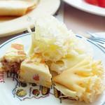 サロンド・テ・チーズ王国 - メロン&マンゴーのチーズがお気に入り