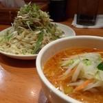 中華そば すずらん - 葱肉清浄麺 紐皮麺