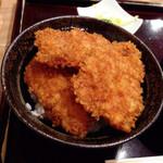 タレカツ - ミニかつ丼