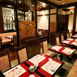北海道料理ユック - お仲間でわいわい…テーブル席