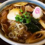 手打ちそば 泉八 - 肉蕎麦(2014/5月撮影)