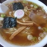 まるさん中華 - 料理写真:ラーメン¥600