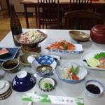 長命館 - 料理写真:2014/5 夕食
