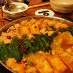 ぶんちん - 味噌モツ鍋