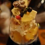 シロクマ - 料理写真:(new)酔っぱらいパフェ。お酒の香りが良いわ~♪
