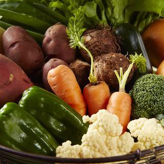 徳島の大地で育った無農薬野菜