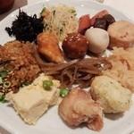 豆乃畑 - 1回目の料理一例