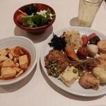 豆乃畑 - 1回目の料理&ドリンク