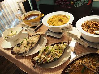 マンゴツリーカフェ ルミネ新宿 - メインのコーナー