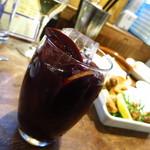 魚とワイン はなたれ - 自家製サングリア490円