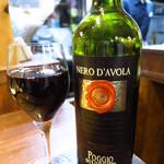魚とワイン はなたれ - イルボッジョ(グラス)490円