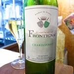 魚とワイン はなたれ - フロンティニャック(グラス)490円